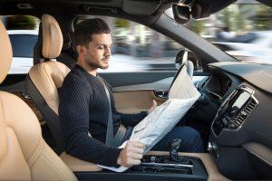 Čítanie v aute